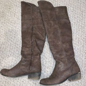 Over the knee boots from Francescas